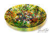 Picture of 17-inch diameter Fused Glass Platter - Earth