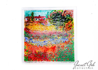 "Picture of 18"" square Fritography - Garden at Arles"